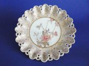Fine Doulton Burslem Hand Painted Aesthetic Movement Cabinet Plate c1887